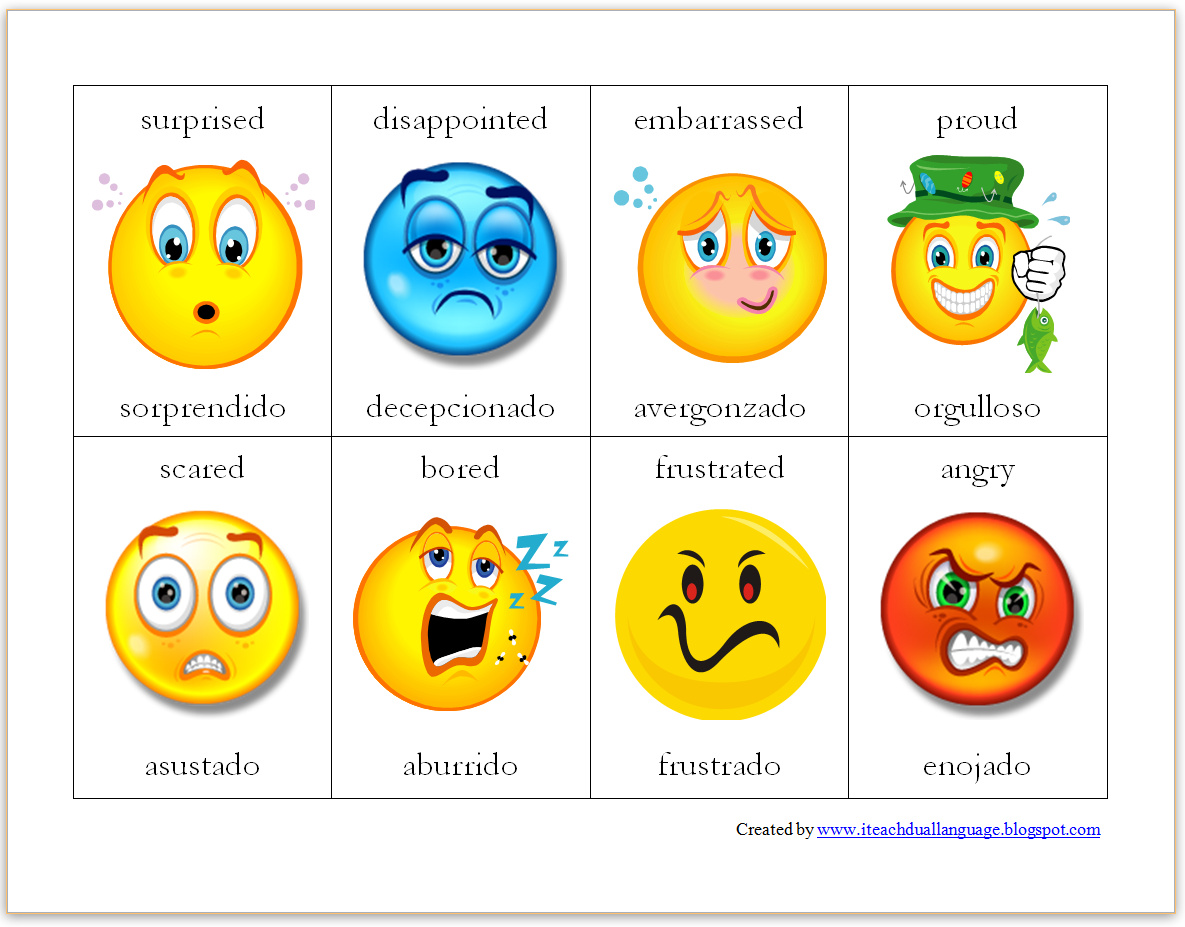Positive and negative spanish words quiz